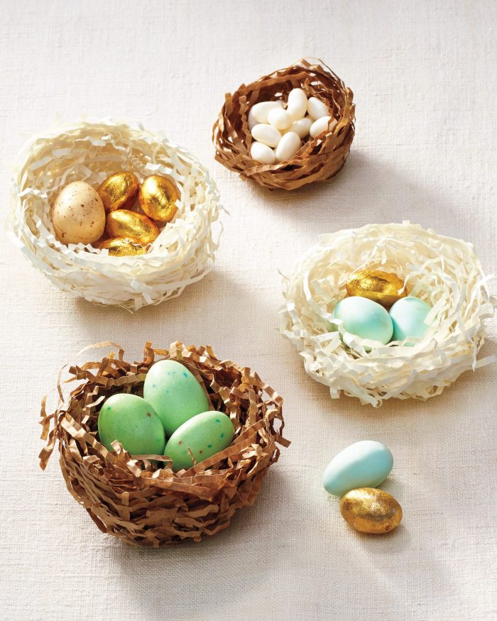 DIY Easter Paper Nests