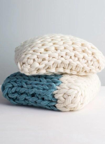 Arm Knit Throw Pillow Video Class