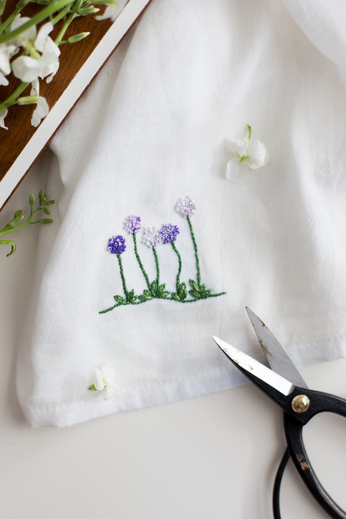 Floral Embroidery Patterns For Dishtowels Flax Twine Enchanting Floral Embroidery Patterns