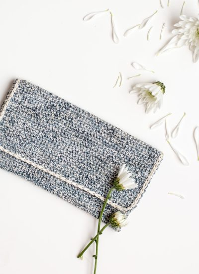 Get it Now! Marled Crochet Clutch Pattern