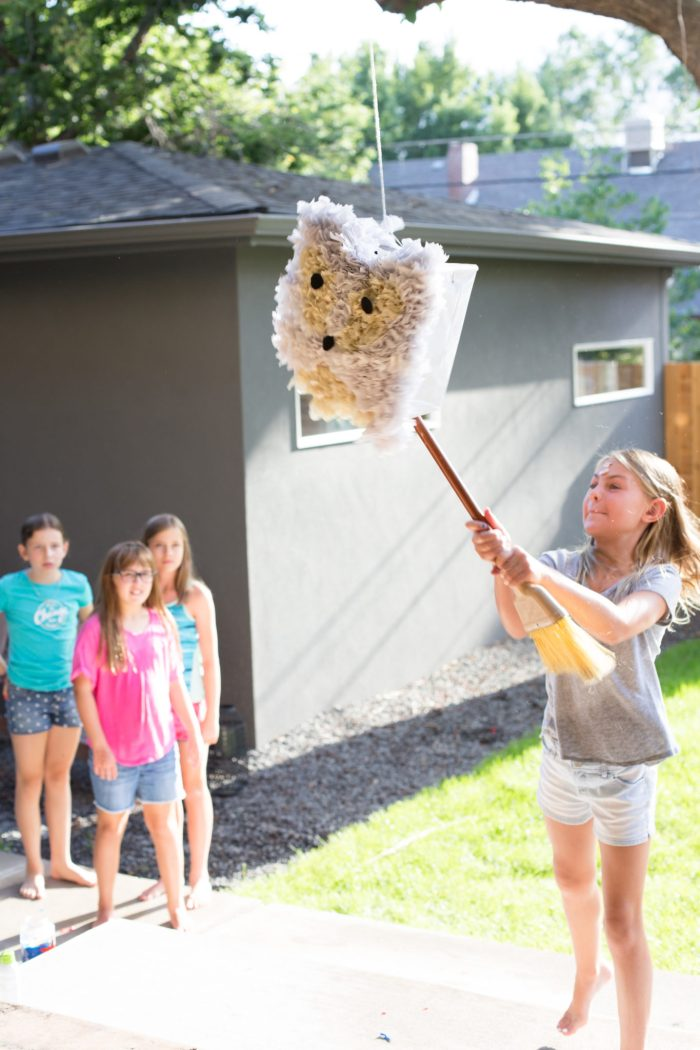 Arctic Fox Pinata DIY and Party by Anne Weil of Flax & Twine