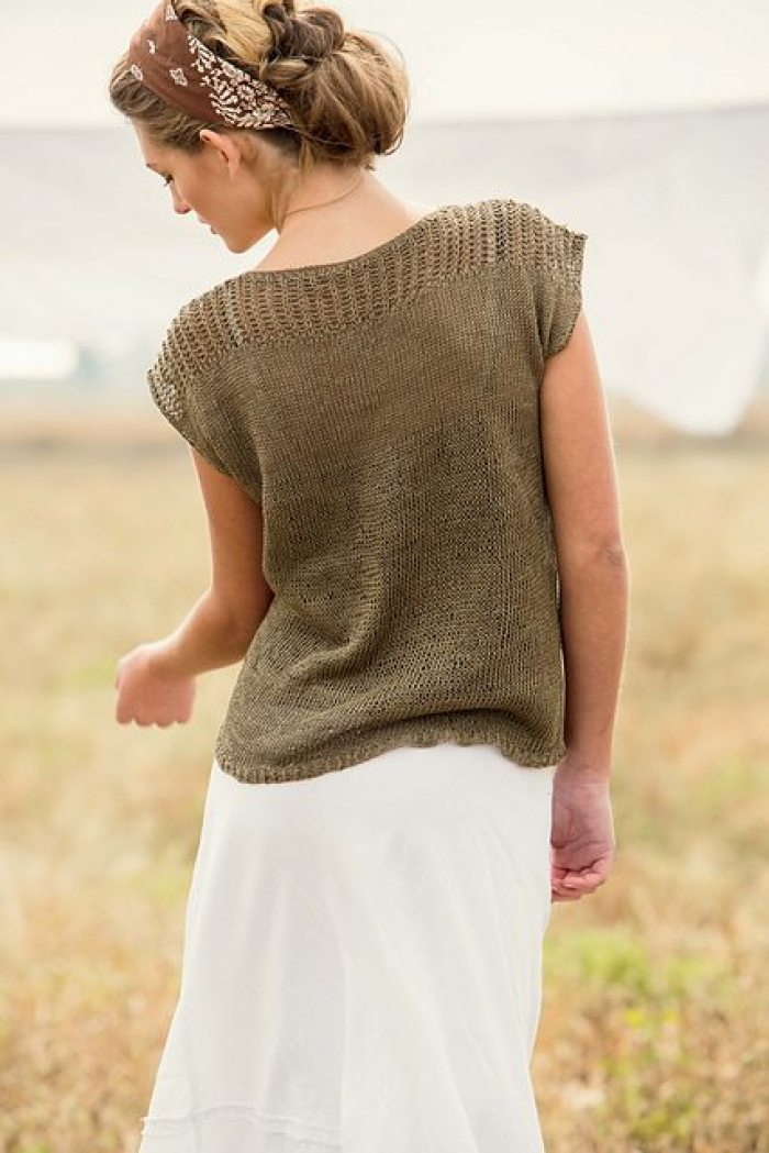 ba2384de3cb Twelve Super Simple Summer Knitting Patterns - Flax   Twine