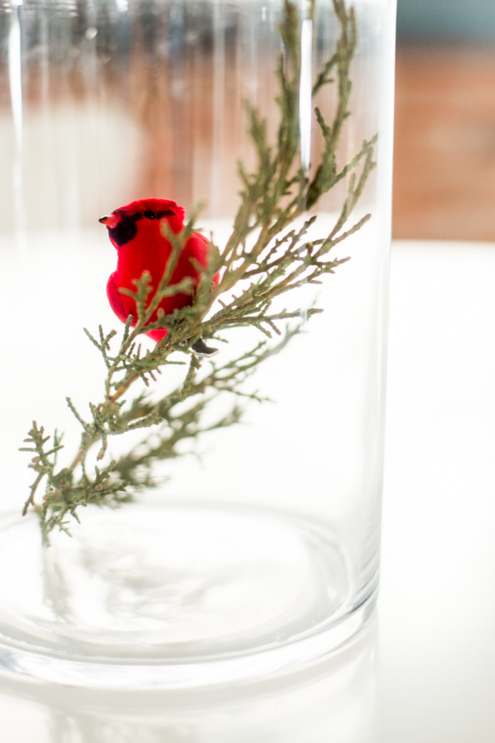 Last Minute Holiday Table Setting by Anne Weil of Flax & Twine