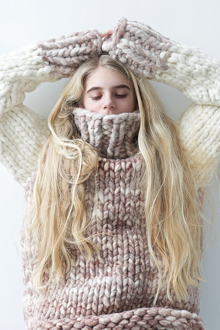 9f31a78bf6 Sweater Weather-12 Best Chunky Knit Sweater Patterns - Flax   Twine
