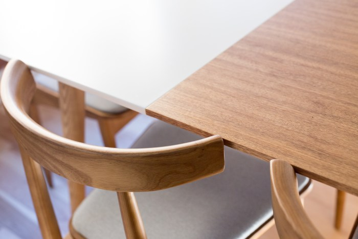 Mid-Century Modern Dining Table and Chairs - Rove Concepts