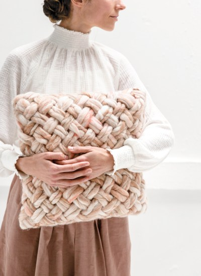 Chunky Basketweave Pillow Video Course