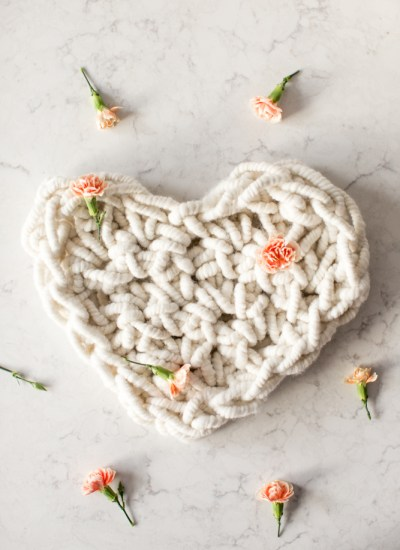 Four Free Valentine's Patterns and New Giant Crochet Heart Kit