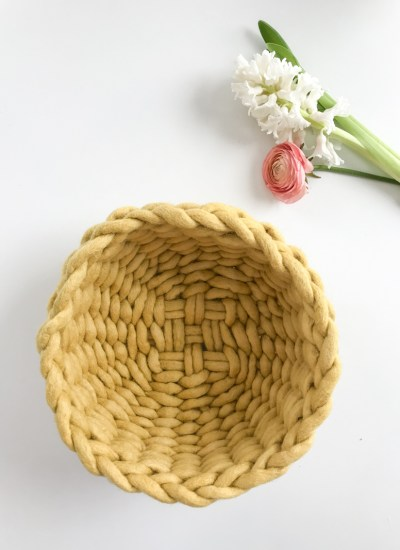 Felted Wool Twined Woven Bowl – New Kits Available Now!