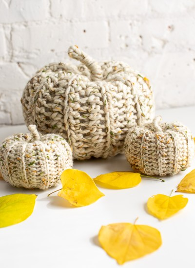 Easy Crochet Pumpkins