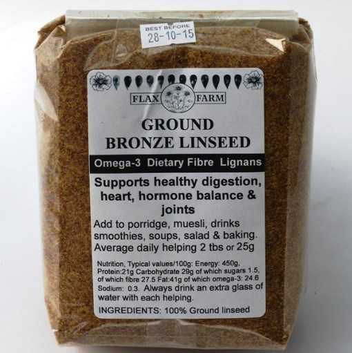 Ground bronze linseed instructions