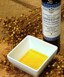Cold-pressed linseed (same as flax seed oil) is one of key ingredients in the Budwig diet.