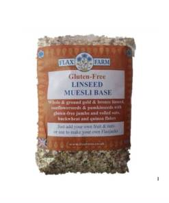 Linseed muesli base
