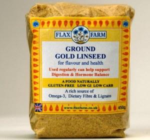 Flax Farm Ground linseed sugar-free gluten-free food