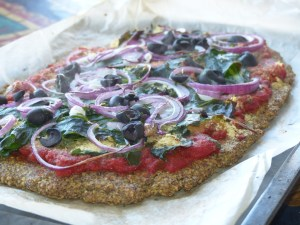 Linseed Pizza