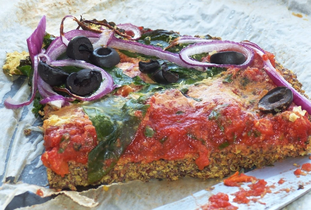 Linseed Pizza Free-from most things!