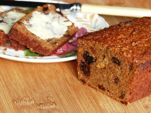 Gluten-free flax and buckwheat maltloaf