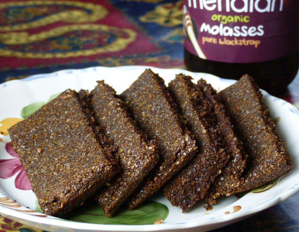 Treacle flax bars