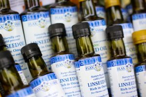 Linseed oil can be used for a healthy stir-fry
