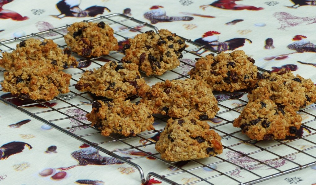 Gluten-free, linseed wheat-free flax rock cakes recipe