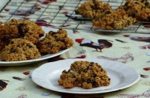 Gluten-free, linseed wheat-free flax rock cakes recipe