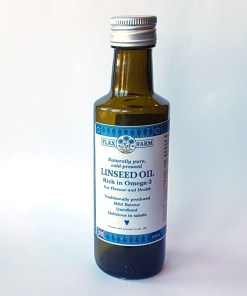 Cold pressed flaxseed linseed oil trial offer