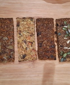 Special Free-from, no-added sugar trial mixed 4-pack: 1 x Carrot Cake, 1 x Courgette & Apple, 1 x Fruit Cake and 1 x Ginger Parkin