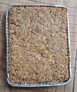 Triple Ginger Bake@Home Flaxjacks