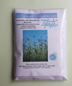 Flaxseed for growing linen