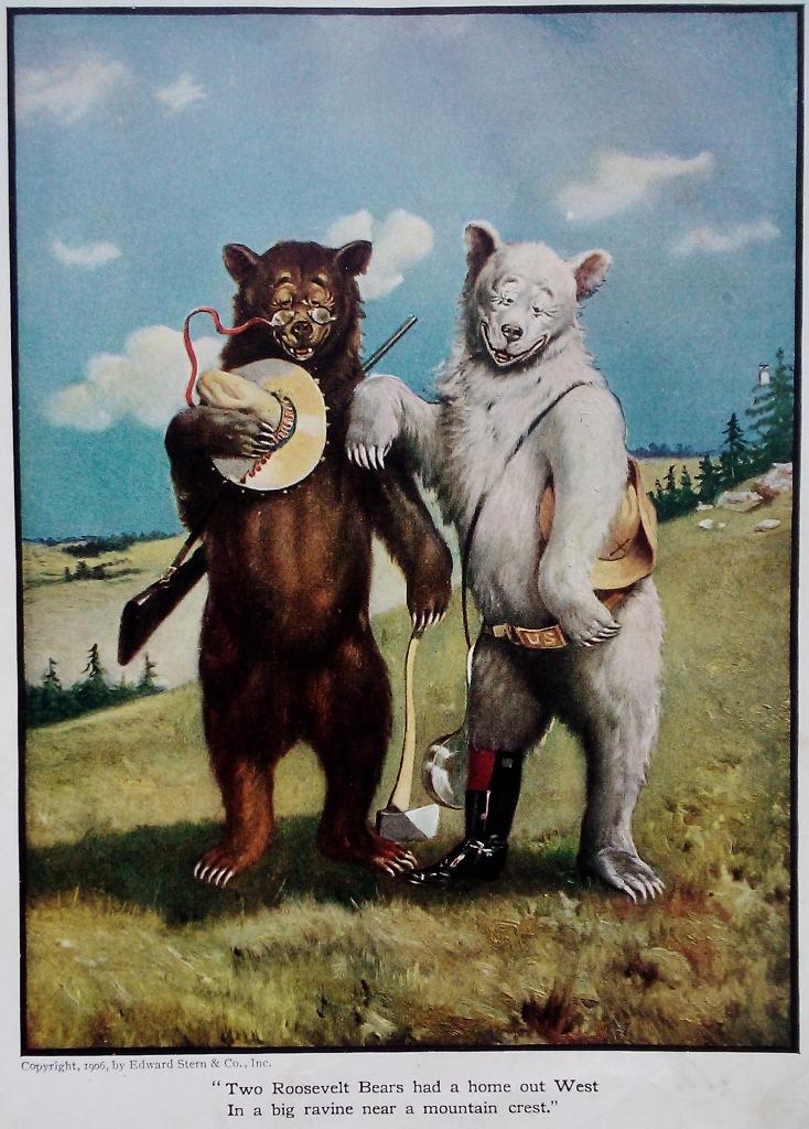 Retrospective Seymour Eaton S The Roosevelt Bears Flayrah