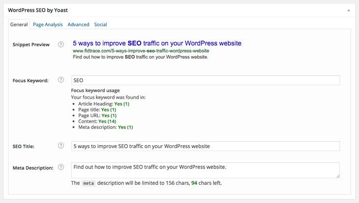 5 Ways To Improve Seo Traffic On Your Wordpress Website