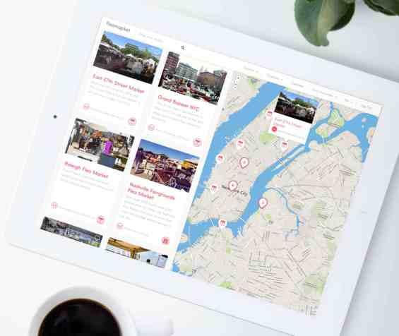 Fleamapket-ipad-white-map-nyc