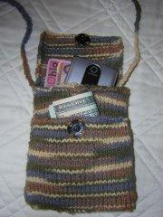 Jeanie Merritt's flea market 'wallet'