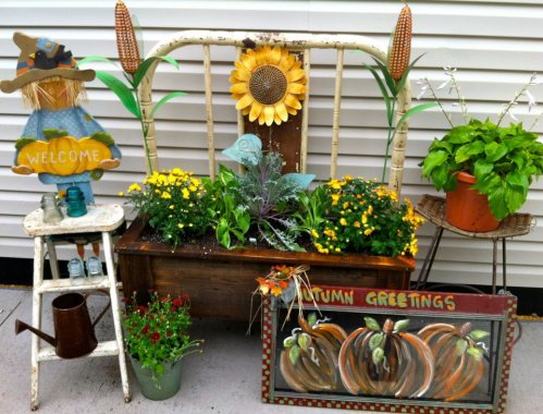 Ann Elias' fabulous Fall display
