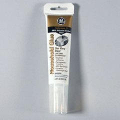 GE II Silicone for exterior windows, in clear