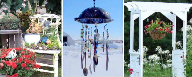 Vignettes from Flea Market Gardening members