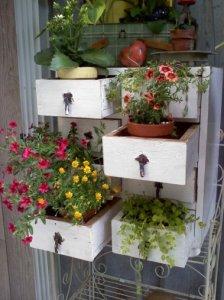 Kay Bassett planted dresser