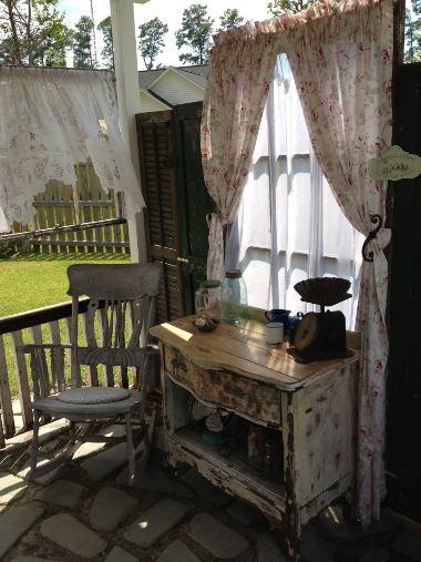 Kim Trudo's porch shutters