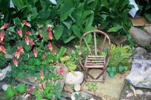 Helen Eyers' twig chair