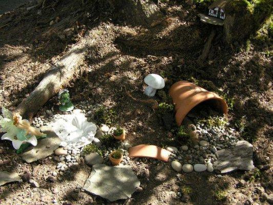Janet Browns fairy garden