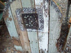 Kathy Gilbert's weathered fairy door