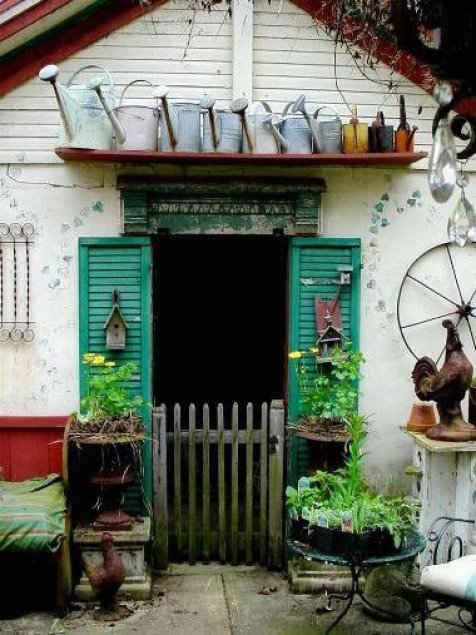 The Little Shop Antiques and Gardens