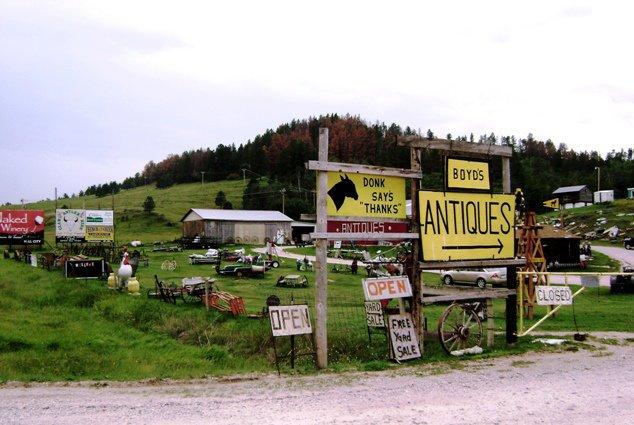 Boyd's Antiques near Custer, South Dakota