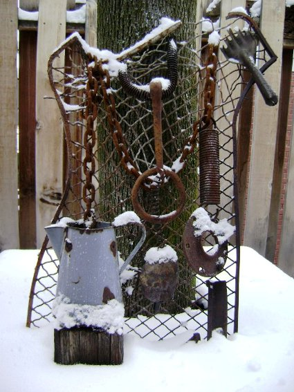 Marie Niemann's rust and snow