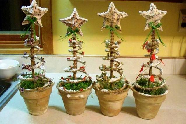 Sue's Springy spring pots