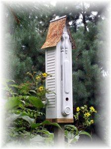 Jeanne Sammons's shutter birdhouse