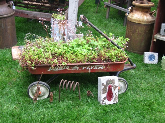A Radio Flyer wagon is on many of our shopping lists. We love planting them up!