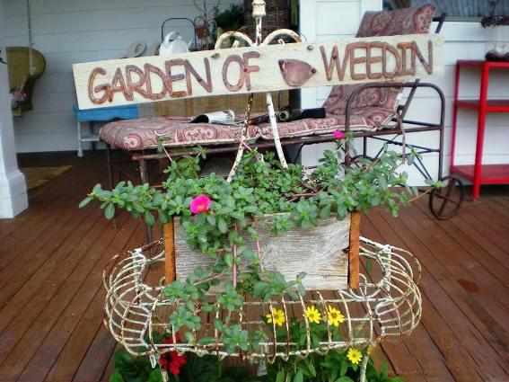 The Joy of ,...weeding? | Flea Market Gardening