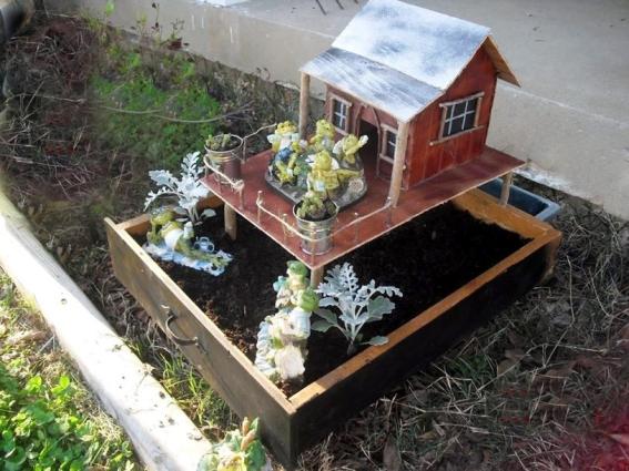 Jess Luna's Bayou house