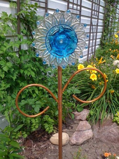 Ann Elias's copper-stemed flower