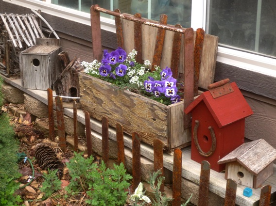 Creative Containers Toolbox Planters Flea Market Gardening